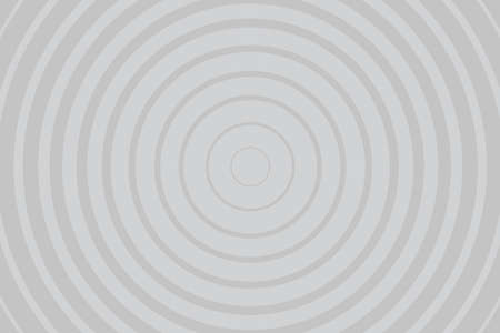 Gray Radiating concentric Circle Pattern Background. Vibrant Radial geometric Vector Illustration