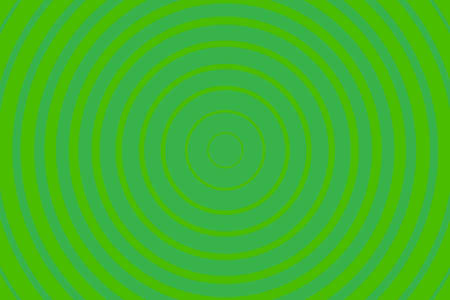 Green Radiating concentric Circle Pattern Background. Vibrant Radial geometric Vector Illustration 矢量图像