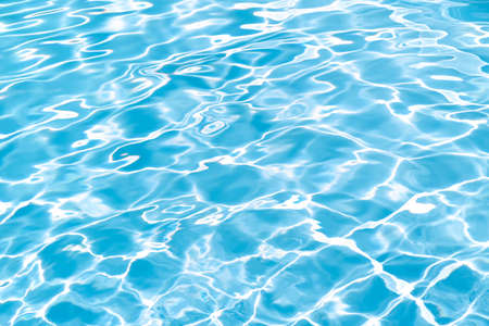 Swimming Pool texture background. Rippled Water surface