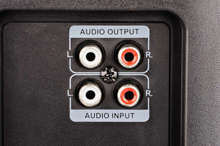 outputs: Audio jack of the two inputs and two outputs