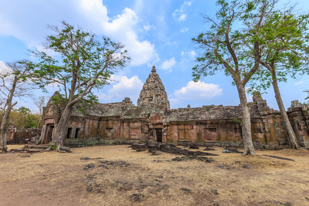 rung: Phanom Rung Historical Park is Rock old Architecture about a thousand years ago at Buriram, Thailand