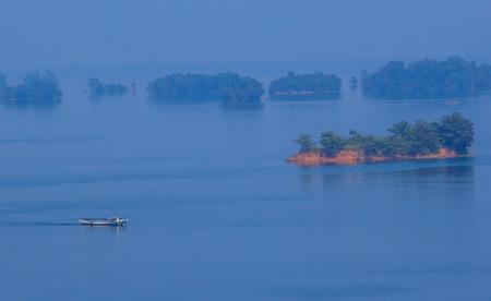 Nam Ngum Reservoir, Nam Ngum Dam, Vientien, Laos