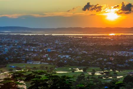 Mandalay city, Mandalay Hill, Mandalay, Myanmar