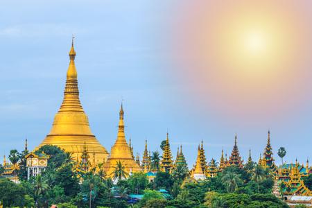 Shwedagon Pagoda, Shwedagon Pagoda the popular pagoda in Myanmar, Yangon, Myanmar.