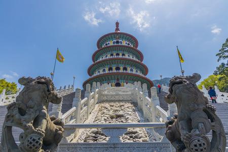 Wuji Tian Yuan Temple, Tamsui, Taipei, Taiwan.