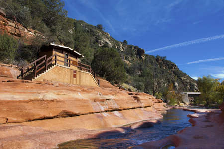 Slide Rock National Park in Sedona photo