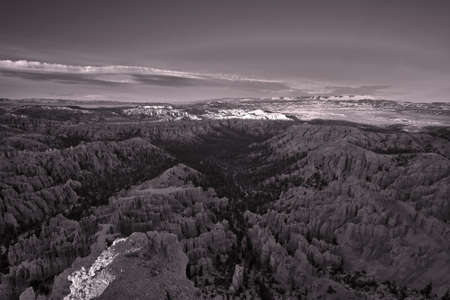 Bryce Canyon Panoramic View in Arizona photo
