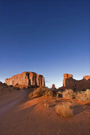 tribal park: Monument Valley National Park in Arizona, USA Stock Photo