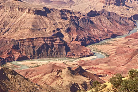 Colorado River in Grand Canyon National Park Arizona, USA photo