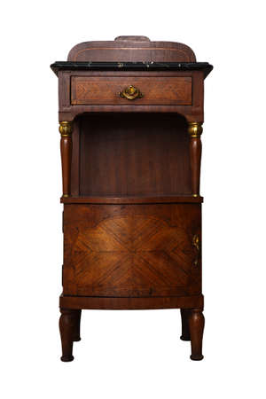 Ancient bedside table