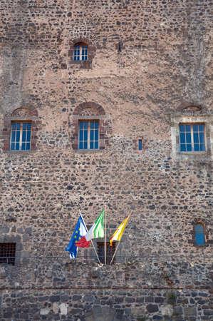 norman castle: Norman castle: main facade