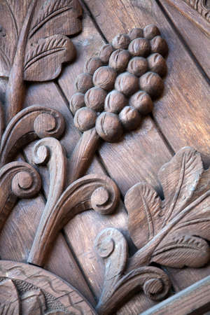 friezes: Old entry: details Stock Photo
