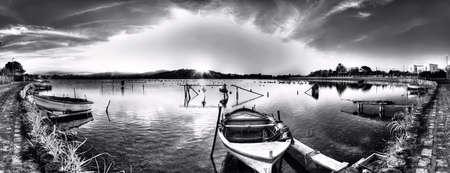 The lake of Ganzirri photo