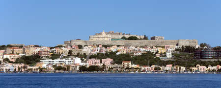 desecrated: Castle of Milazzo and suburbs