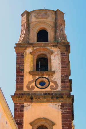 Kerk van Sint-Bartholomeus in Lipari Stockfoto