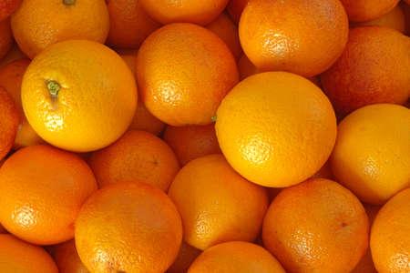 Sinaasappelen van biologische teelt