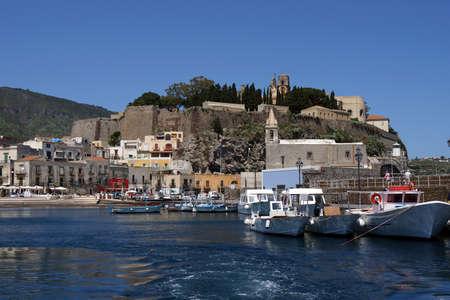 filicudi: Fortification of Lipari in the Aeolian islands