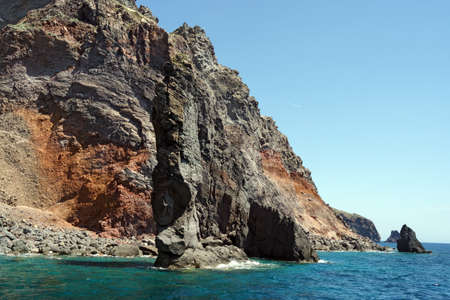 filicudi: Islets and faraglioni of the Aeolian islands Stock Photo