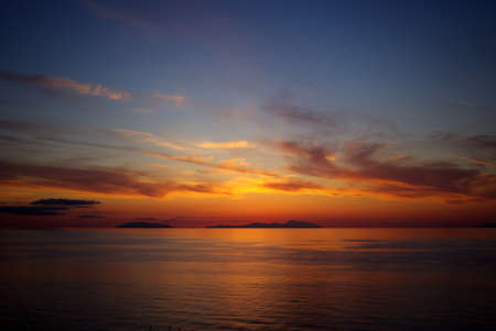 panarea: Sunset on the Aeolian islands