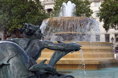 trafalgar: Trafalgar Square fountain