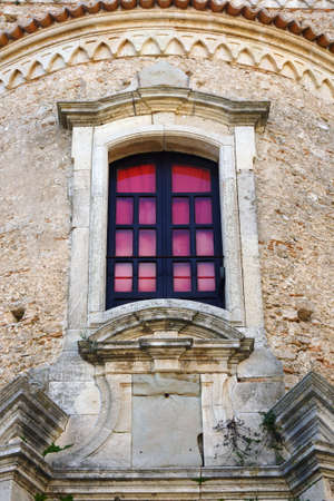 The cathedral of Gerace  a window