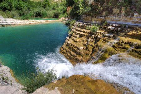 The river of Cavagrande in Sicily