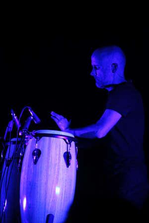 MINSK, BELARUS - JUNE 10  Moby performs at Minsk-Arena on June 10, 2011