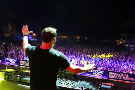 MINSK, BELARUS - JULY 6  Markus Schulz at the Global Gathering Festival on July 6, 2013 in Minsk