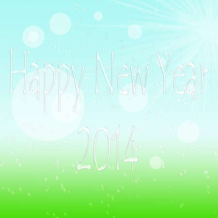 morning dew: New year design with shades of morning dew Stock Photo