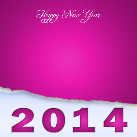 date night: New Year design on scraps of purple paper-2