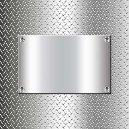 Metal background design with rectangle-5 photo
