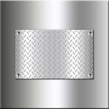 Metal background design with rectangle-4 photo