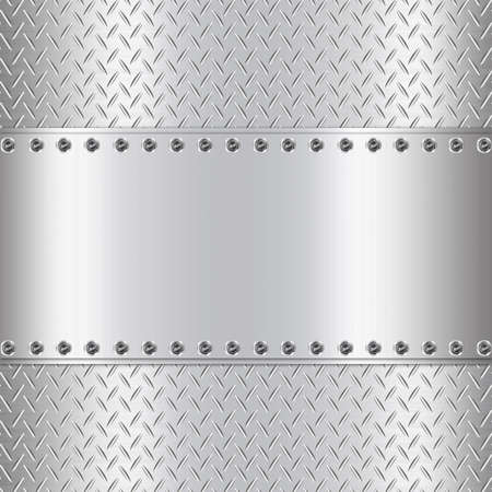 Metal background design with rectangle-2 photo
