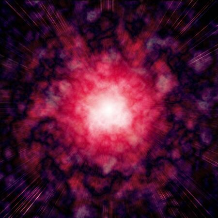 starwars: Star explosion red and purple