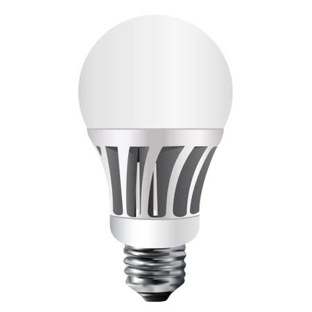 vector lamp: Led bulb, vector, led lamp