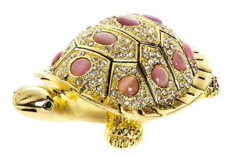 Golden tortoise photo