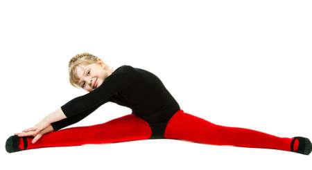 Splits exercise photo