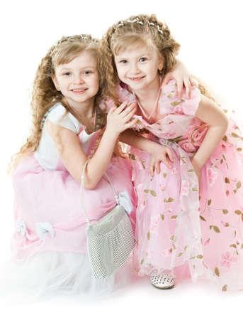 Twin princesses photo
