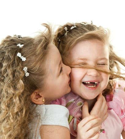 Happy twin sisters Stock Photo - 9310654