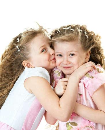 Cute sisters photo