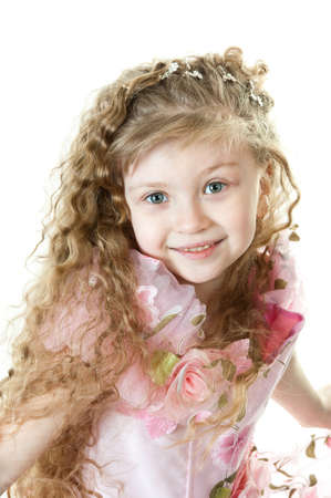 Portrair of a little princess Stock Photo - 9310756