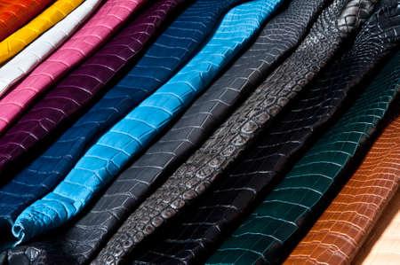 Leather rainbow photo