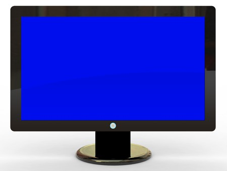 Plasma display Stock Photo - 4284230