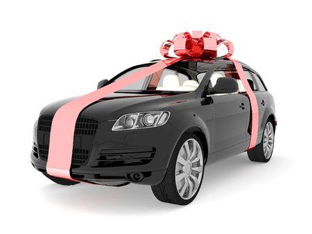dream car: Costoso regalo Foto de archivo
