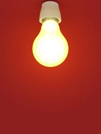 burning lamp Stock Photo - 4388132