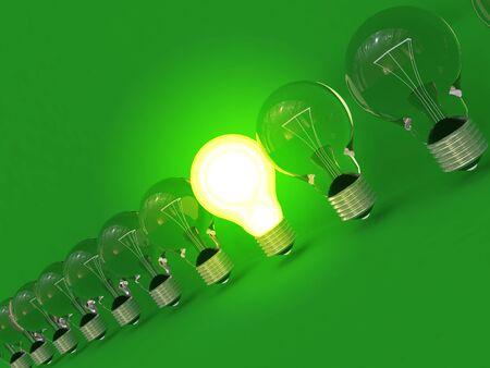 Glowing lamp Stock Photo - 4388136