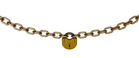 occlusion: Chains with lock