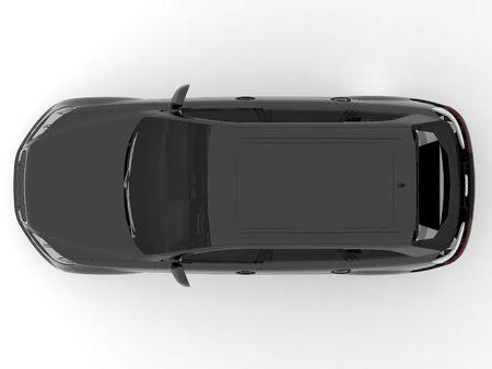 Top view car photo