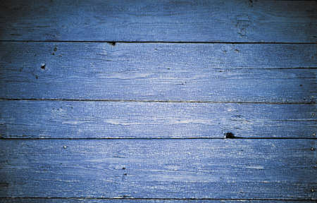 blue painted wooden background Stock Photo - 10783350
