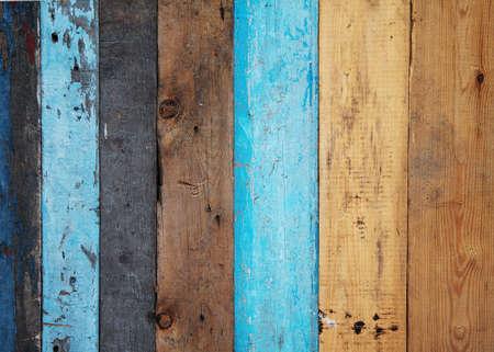 ヴィンテージの木製の背景を描いた 写真素材